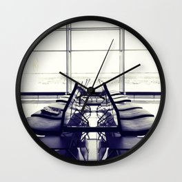 THE WAITING Wall Clock