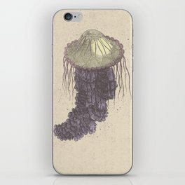 Jellyfish Concert Poster iPhone Skin
