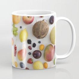 Collection of summer fruits Coffee Mug