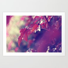 feeling like fall Art Print