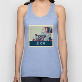 2CV or The Tin Snail Unisex Tank Top