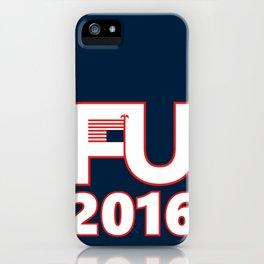 FU2016 iPhone Case