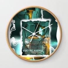 electric avenue Wall Clock
