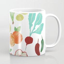 Veggie collage Coffee Mug