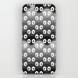 susuwatari pattern iPhone Skin