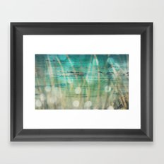 Turquoise Dreams Framed Art Print