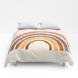 Abstract Rainbow 88 Comforters