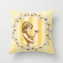 The Spring Collection: Fauna Throw Pillow