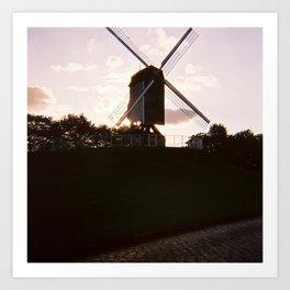 Bruges #1 Art Print