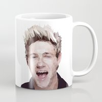niall horan Mugs featuring Niall Horan - One Direction by jrrrdan