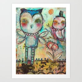 Mind Spring Art Print