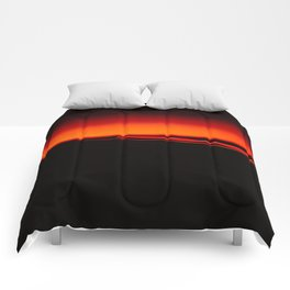 Night Lights Four Red Tail Lights Comforters