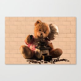 Coffeebaer Canvas Print