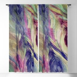 Peacock Dress Pattern Blackout Curtain