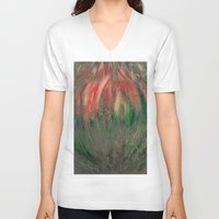 blossom V-neck T-shirts featuring blossom by Detelina Abadjieva