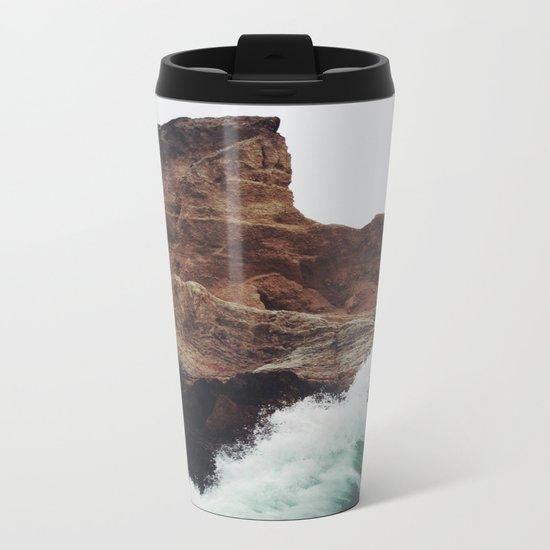 Montaña Wave Metal Travel Mug