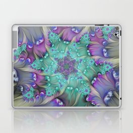 Find Yourself, Abstract Fractal Art Laptop & iPad Skin