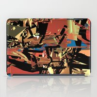 nietzsche iPad Cases featuring Nietzsche Walks Out At Bayreuth (The Theater of Noisea)  by Lanny Quarles