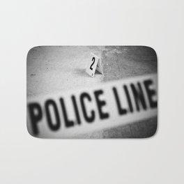Police Line Bath Mat