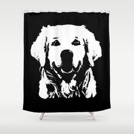 GOLDEN RETRIEVER PET Shower Curtain