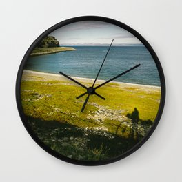 Bicycle Touring Wall Clock