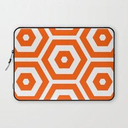 Pop Art Colour Based Hexagon Pattern Laptop Sleeve