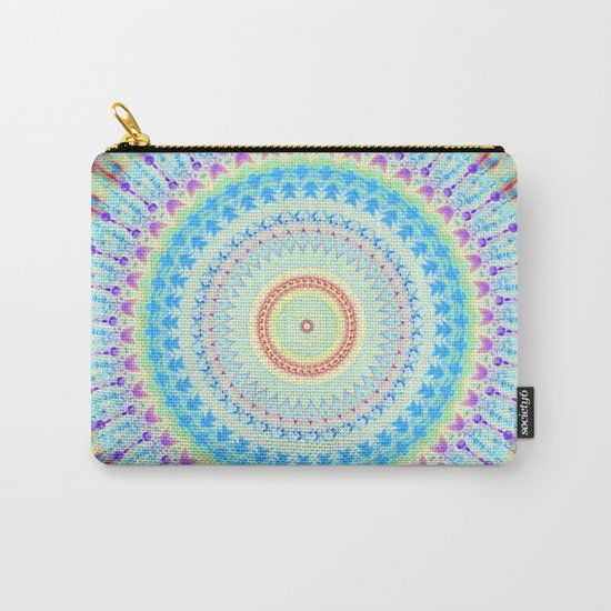 mandala waves Carry-All Pouch
