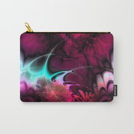 Psychedelic Waves (amaranth) Carry-All Pouch