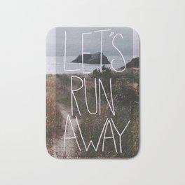 Let's Run Away: Cannon Beach, Oregon Bath Mat