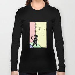 Stoop Kitten Long Sleeve T-shirt