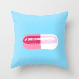 Chill Pill Throw Pillow