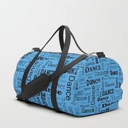 Just Dance - Blue Duffle Bag