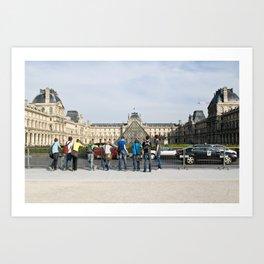 les jeunes de paris Art Print