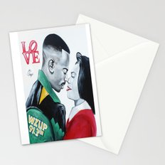 Black Love - Martin & Gina Stationery Cards