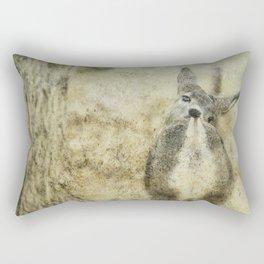 Nose to Tail Rectangular Pillow