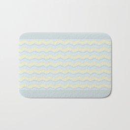 Abstract Zigzag Bath Mat