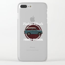 Vintage Wheels: Trabant 601 Universal Clear iPhone Case