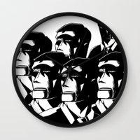 1984 Wall Clocks featuring 1984 by It's Mandra™