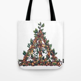 Overgrown Deathly Hallows Tote Bag