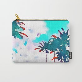 Lanikai Coconut Trees Carry-All Pouch