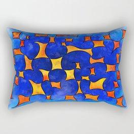 Blesmios V1- melting cubes Rectangular Pillow