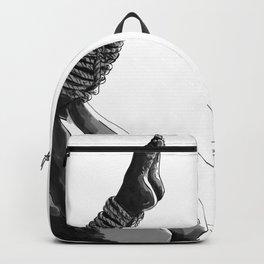 Shibari art Backpack