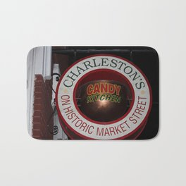 Candy Shop Sign Bath Mat