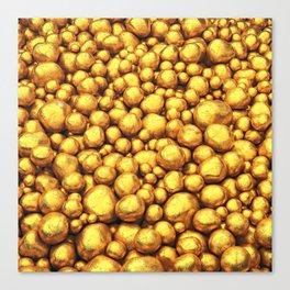 Raw gold Canvas Print