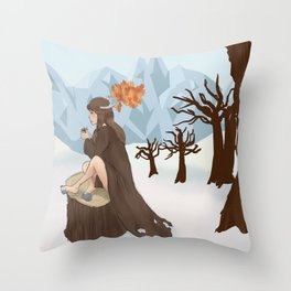 Caribou Coffee  Throw Pillow