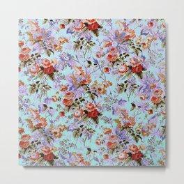 fleuri Metal Print