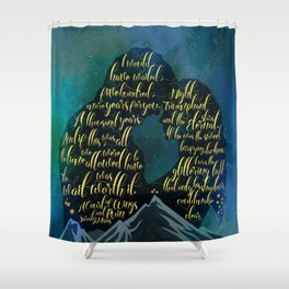 The wait was worth it. A Court of Wings and Ruin (ACOWAR). Shower Curtain