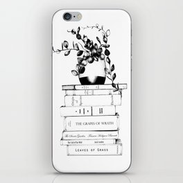 The Nature of Books iPhone Skin