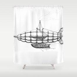 Airship 2 Shower Curtain