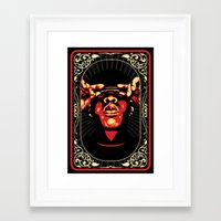 jay z Framed Art Prints featuring Jay-Z by Rafael Bosco